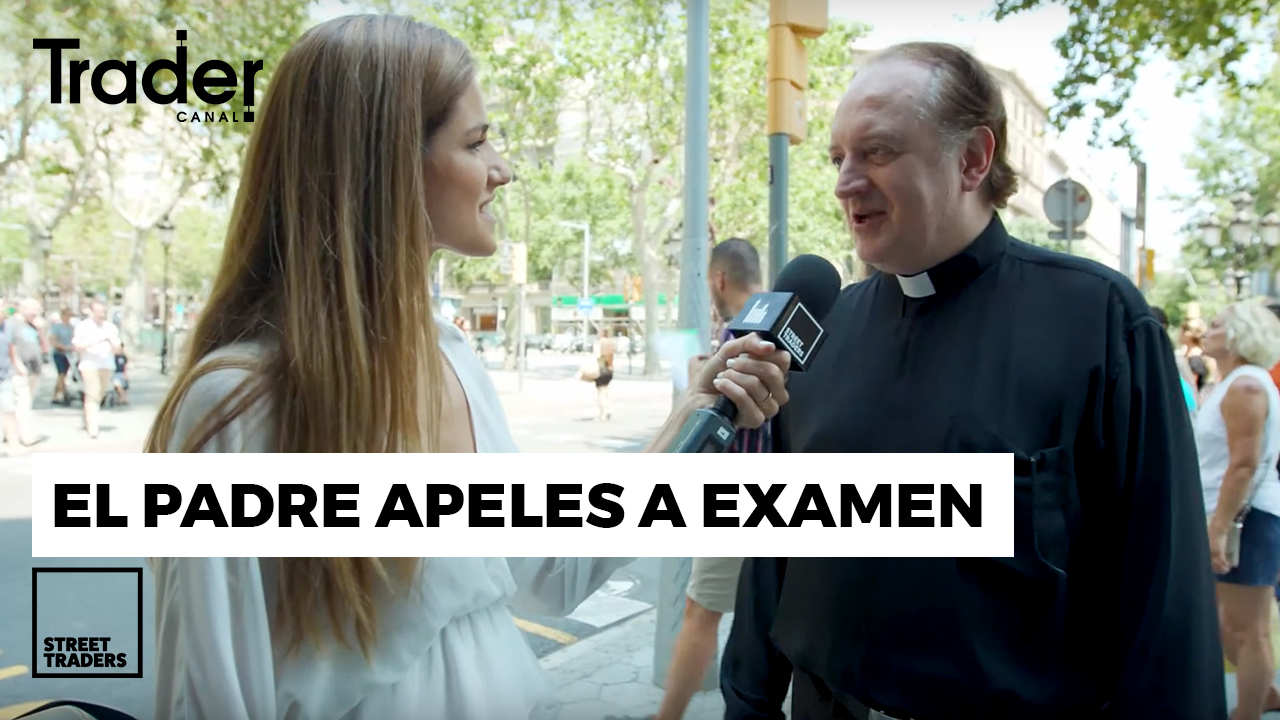 FATHER APELES takes an EXAM! | STREET TRADERS